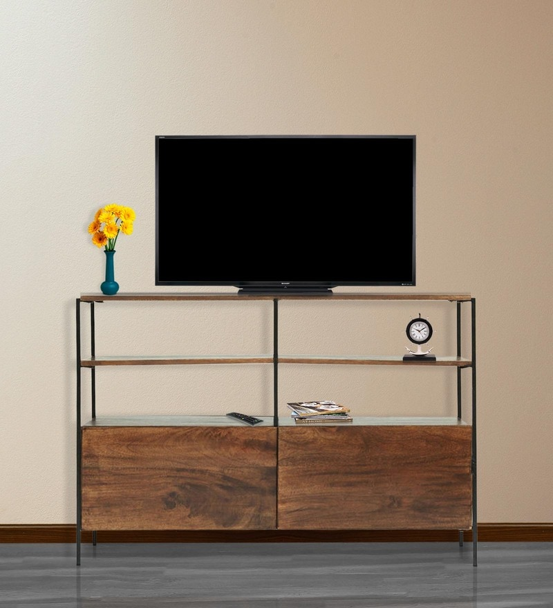 Modular Entertainment Unit in Walnut Finish by The ArmChair