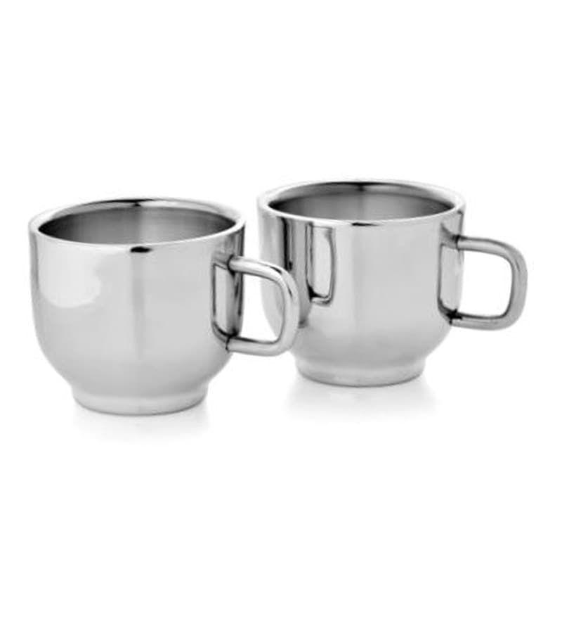 Mosaic Stainless Steel 150 ML Tea Cups Set of 6 by  : mosaic stainless steel 6 pcs tea cup set cappuccino mosaic stainless steel 6 pcs tea cup set cap m9zmar from www.pepperfry.com size 800 x 880 jpeg 35kB