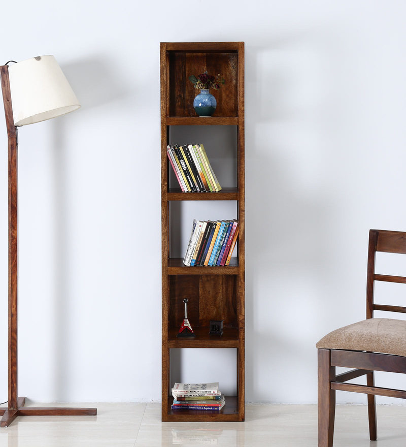 Trenton Book Shelf in Provincial Teak Finish by Woodsworth