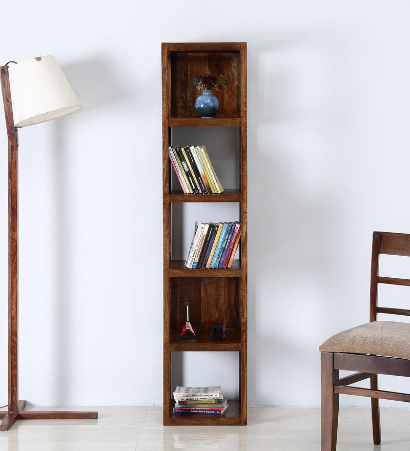 Trenton Book Shelf in Provincial Teak Finish by Woodsworth