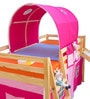 Montana Loft Bed in Pink Colour by Alex Daisy