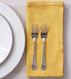 Mullich Reviera Stainless Steel Fork - Set Of 6 - 1327630
