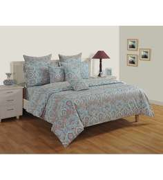 Multicolour Cotton Fitted Bedsheet   Set Of 3 ...
