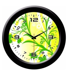 Wall clock online buy wall clocks in india best prices multicolour plastic 8 x 2 x 8 inch designer wall clock sciox Images