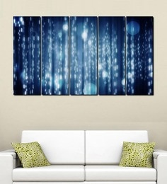 999Store White Lights Multiple Frame Wall Art at pepperfry