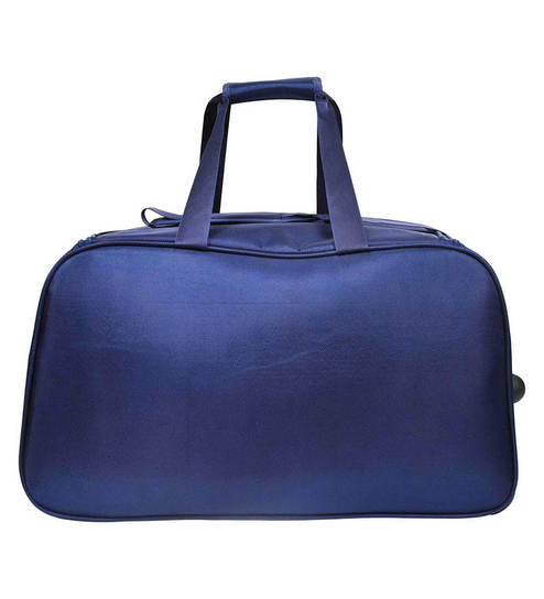 Buy Murano Junio 24 Inch Polyester Duffle Bag- Navy Blue Online ... 5240957fd42a8