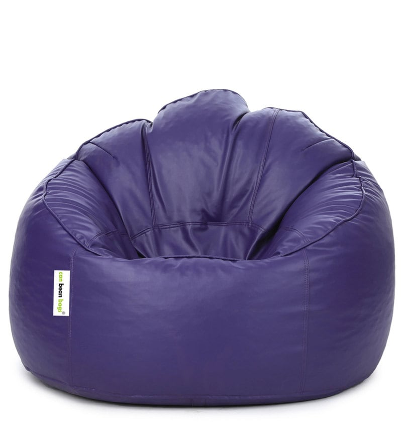Magnificent Mudda Xxxl Bean Bag With Beans In Purple Colour By Can Dailytribune Chair Design For Home Dailytribuneorg