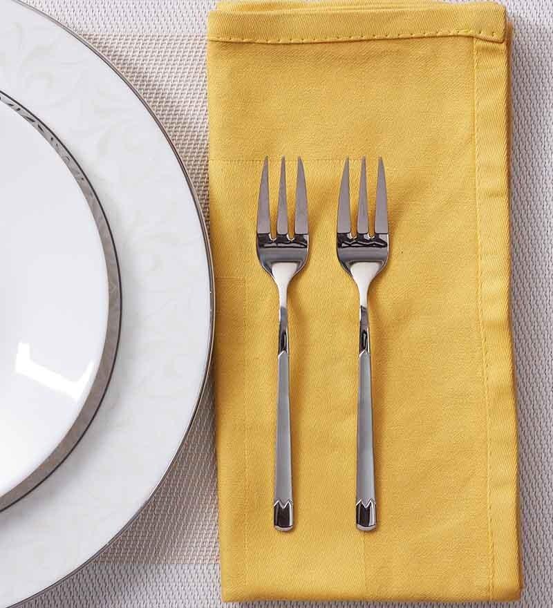 Mullich Lisbo Stainless Steel Fork - Set of 6