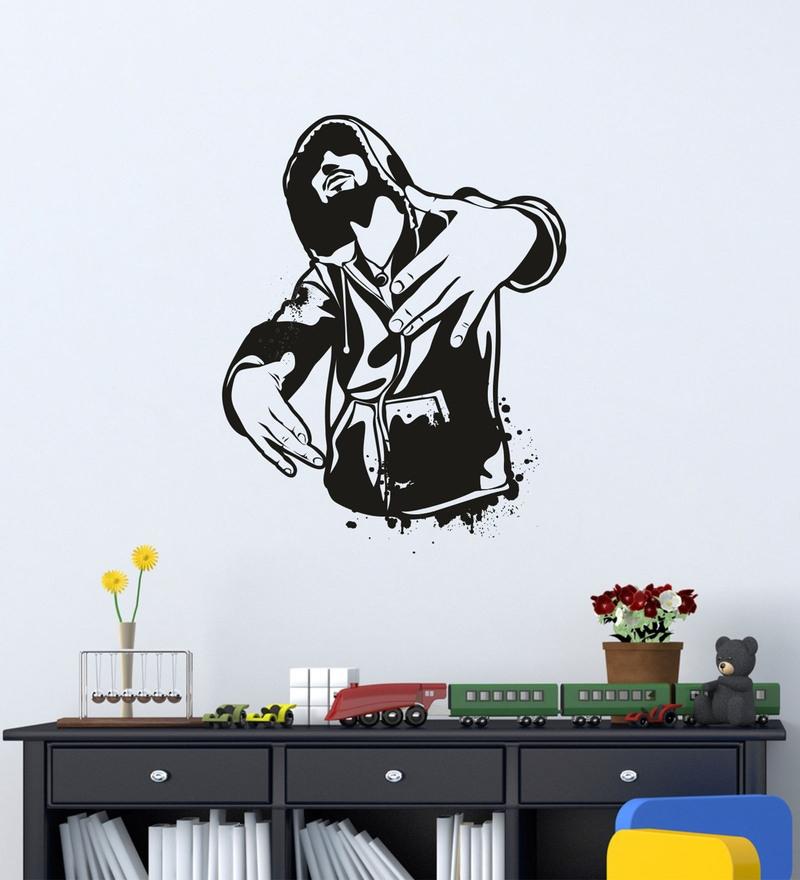 e22c1cb8eb Buy WallTola Modern Town Silhouettes PVC Vinyl Wall Sticker Online ...