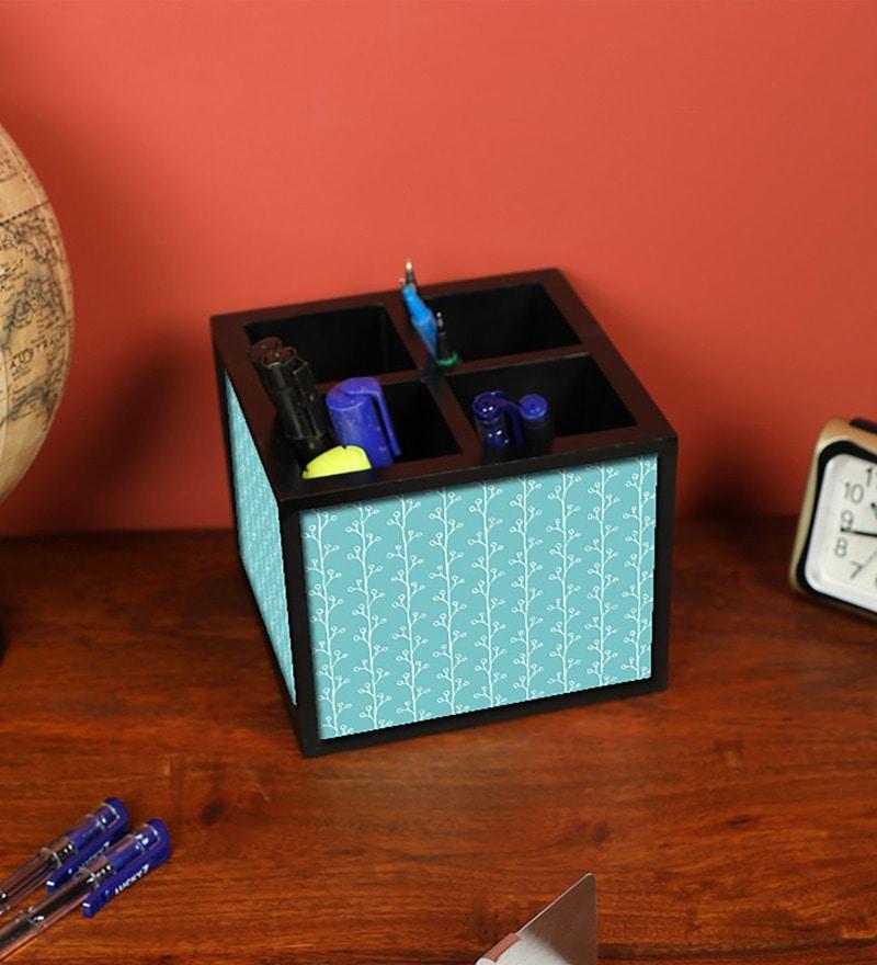 8debd7ba39 Buy Black Designer Marble Wood Pen & Mobile Stand by Nutcase Online ...