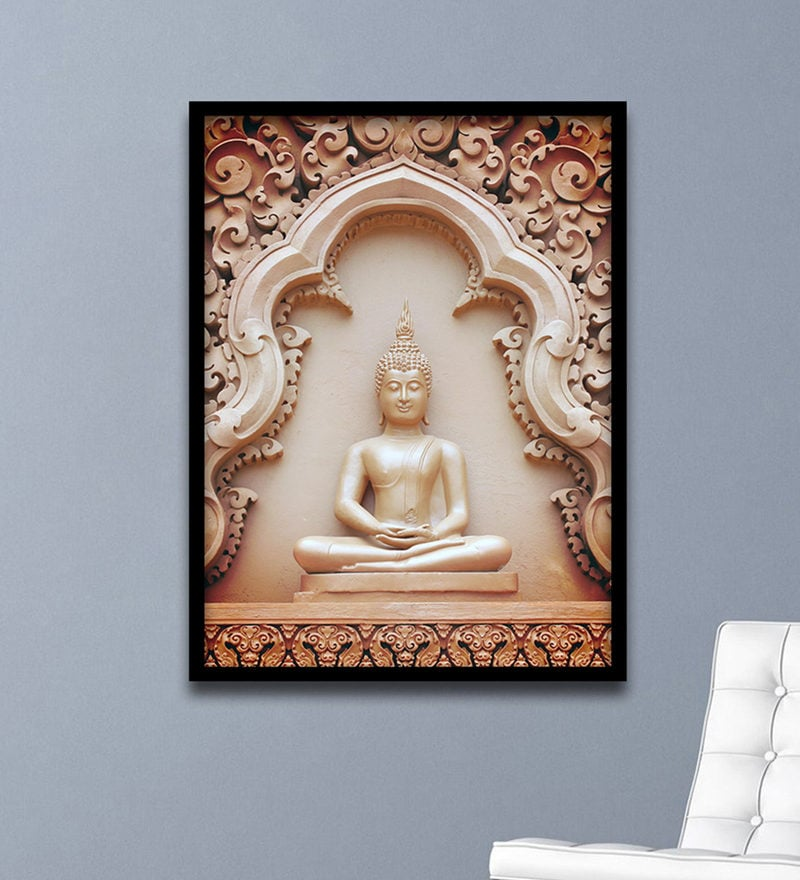 Buy Retcomm Art Ganesha Classic Mural Painting Canvas Digital