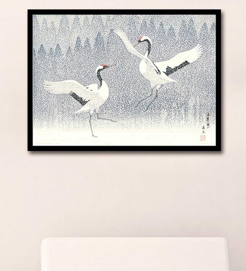 e44bf7b522687 Buy Canvas 24 x 17 Inch Contemporary Art Turtle Doves Delicate ...