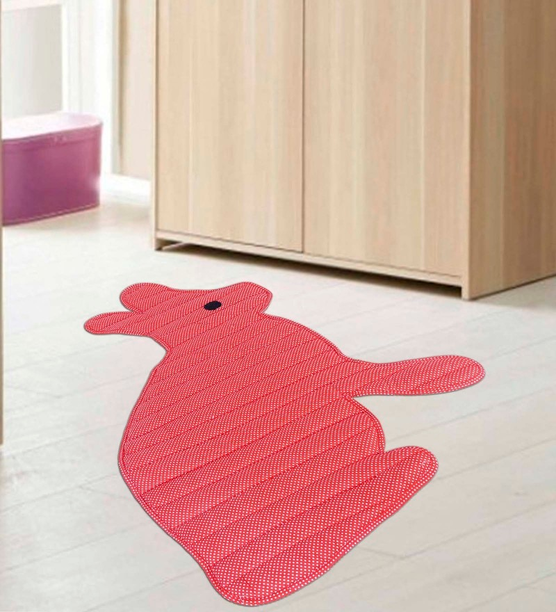Multicolour Cotton 30 x 20 Inch Attractive Door Mat by Creative Textiles