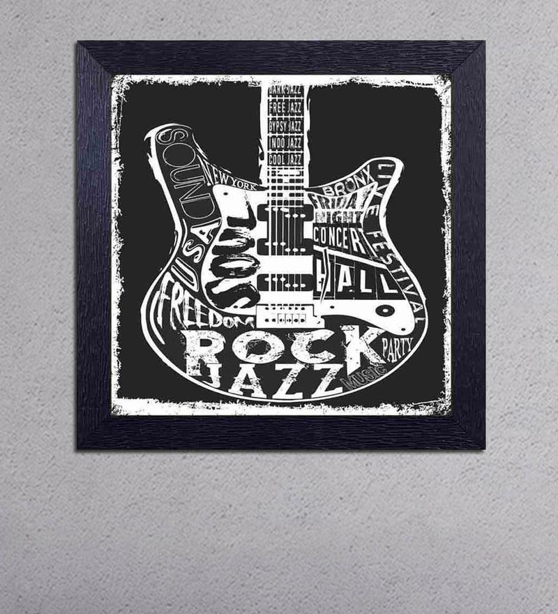 Multicolour Matt Paper Rock Concert , Soul Freedom Rock Jazz Poster by Decor Design