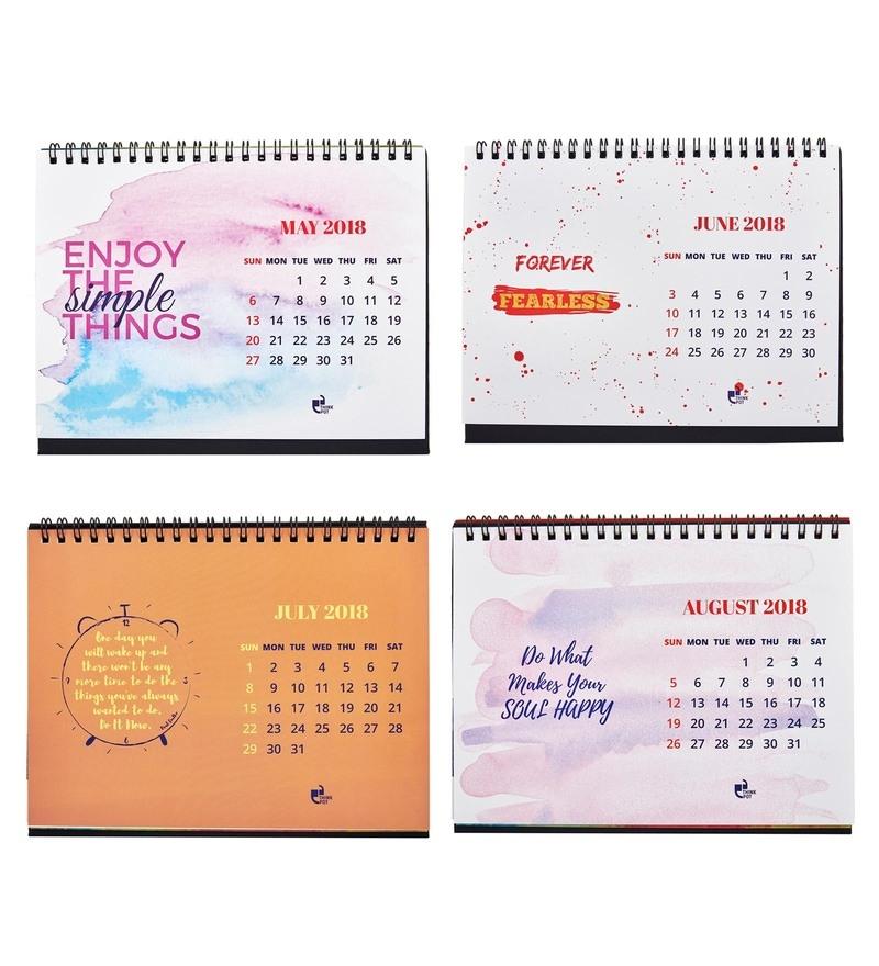 Buy Paper 2018 Motivational Calendar By Thinkpot Online Calendars