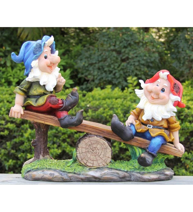 Buy green girgit big gnome planter online garden decor for Garden accessories online