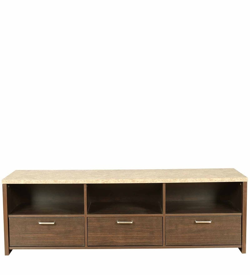 Murano Entertainment Unit in Wenge Colour by HomeTown