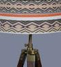 Multicolour Cotton Tripod Floor Lamp by Ethnic Roots