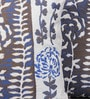 Muslin Blue Poly Silk & Wool 16 x 16 Inch Jungle Book Cushion Cover - Set of 2