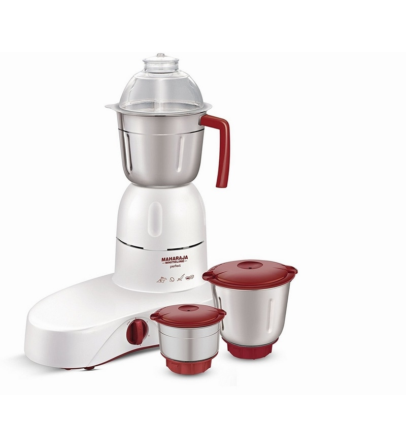 MX-100 Perfect 500 W Mixer Grinder by Maharaja Whiteline