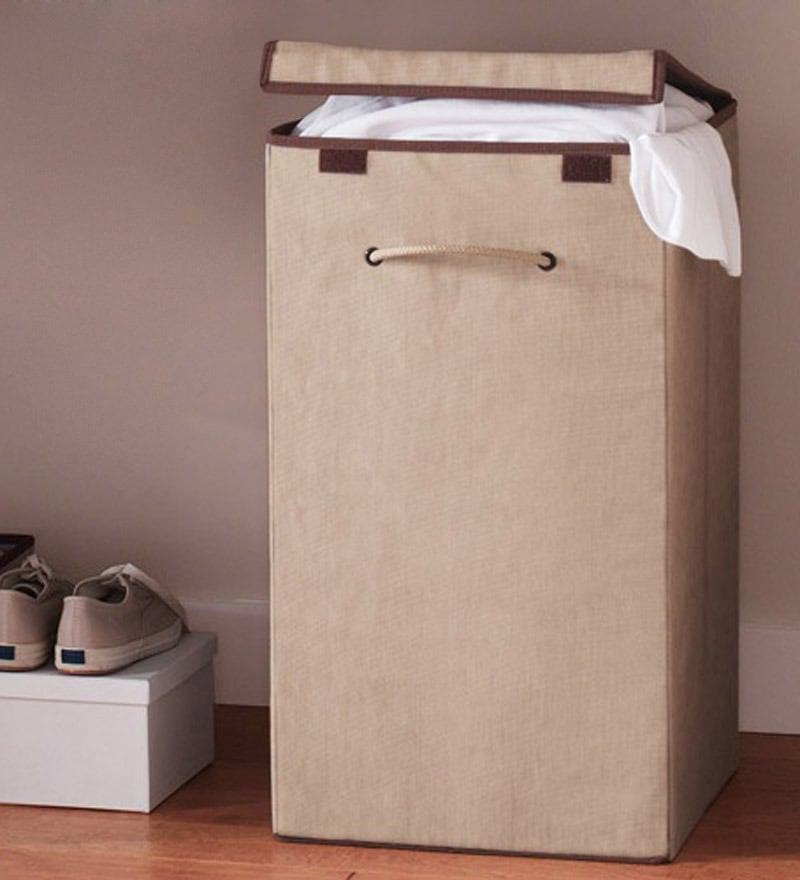 My Gift Booth Nonwoven Laundry Basket