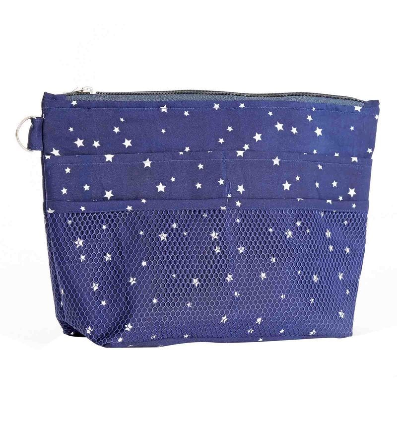 My Gift Booth Star Print Artificial Crepe Purse Organiser
