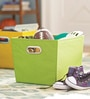 My Gift Booth Nylon Lime Green Storage Basket