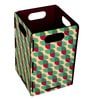 My Own Circle Pattern Engineered Wood 1 L Multicolour DIY Dustbin