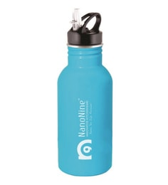 Nano 9 Tuf Blue Stainless Steel 500 ML Bottle
