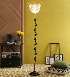 Buy colonial table lamps online in india best prices pepperfry beige bamboo floor lamp mozeypictures Images