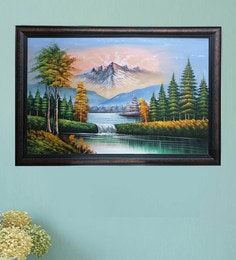 Nature Painting Buy Landscape Paintings Online Starts From Rs 5 499 Best Prices Pepperfry