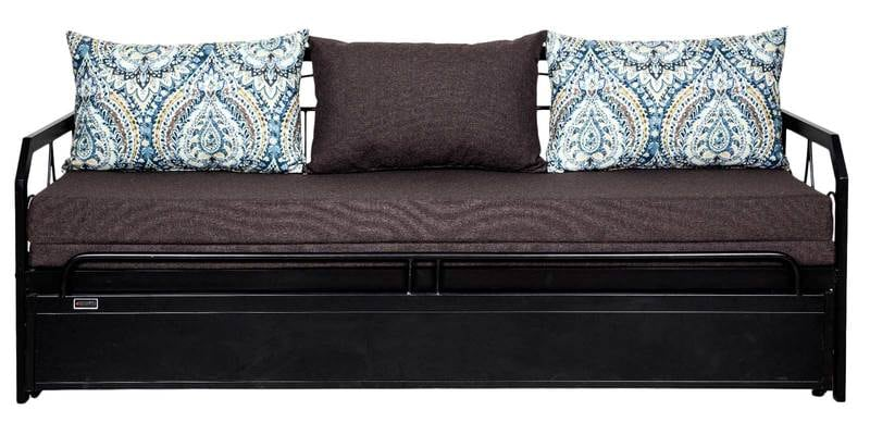 Buy Nairobi Metallic Sofa Cum Bed With Storage Amp Delicioso