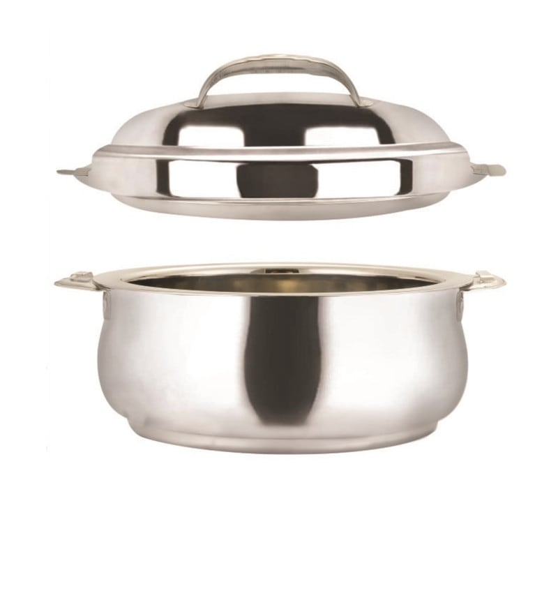 Nano 9 Belly Stainless Steel 5 L Casserole with Lid