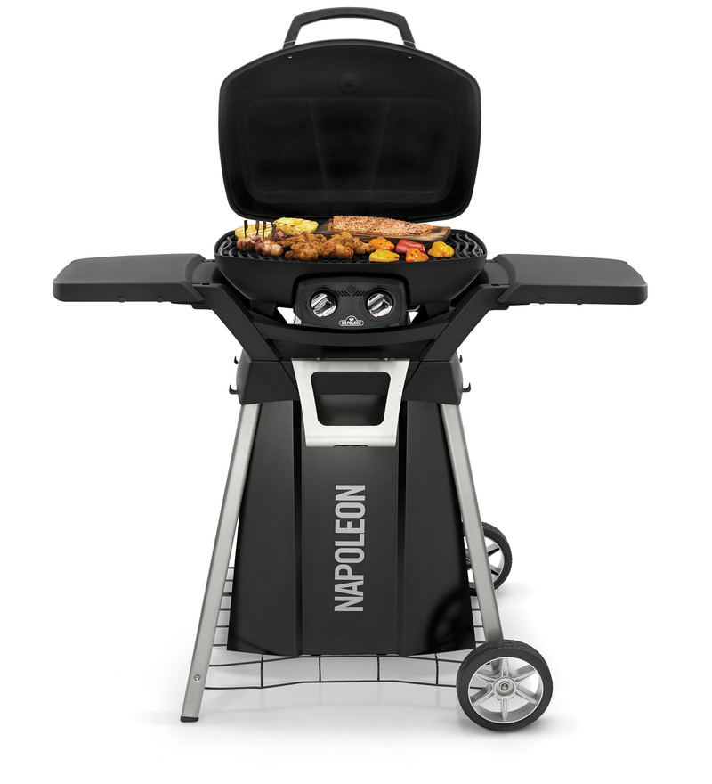Napoleon Pro 285 Portable Gas Grill With Black High Top Lid