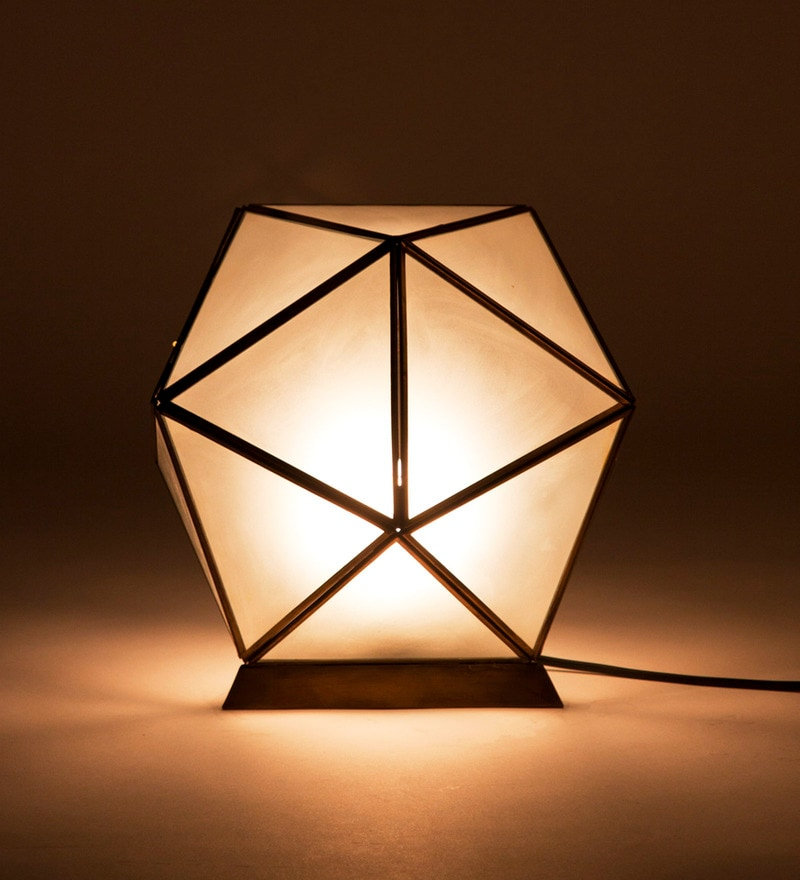 Natural Frosted Dawan Table Lamp by Orange Tree