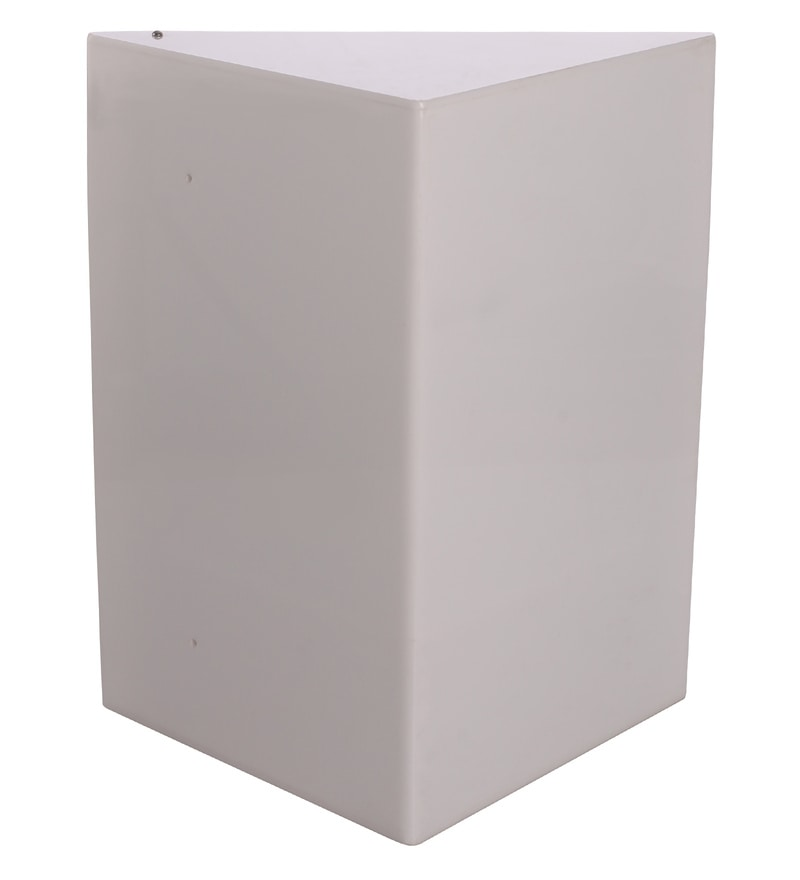 Buy white acrylic corner wall cabinet by navrang online - Bathroom storage wall cabinets white ...