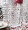 Nachtmann 320 ML Weave Pattern Highball Whisky Glass - Set of 4