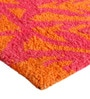 Fuchsia and Orange PET 91 x 63 Inch Area Rug by The Rug Republic