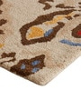 Multicolour Wool 91 x 63 Inch Area Rug by The Rug Republic