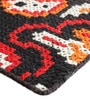 Multicolour Wool 91 x 63 Inch Abstract Pattern Area Rug by The Rug Republic