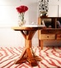 Glyn End Table in Natural Finish by Amberville
