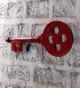 Red MDF  Key Holder By Nandani Wood
