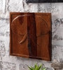 NB Home Interior  Brown Sheesham Wood Hathi Wall Panel