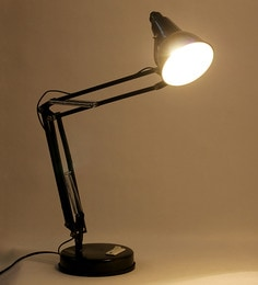 Study lamp online buy studydesk table lamps at best prices pepperfry black metal study lamp mozeypictures Gallery