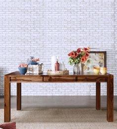 New Kiara Six Seater Dining Table In Honey Finish