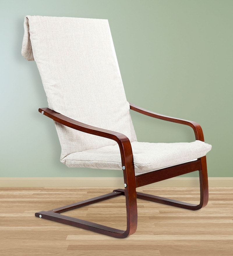 Nero Relaxing Arm Chair in Beige Colour by HomeTown
