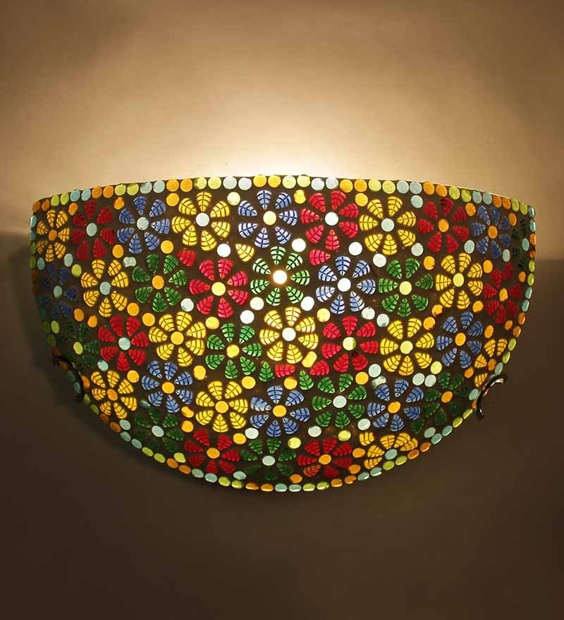Abstract Floral Upward Wall Mounted Light by New Era