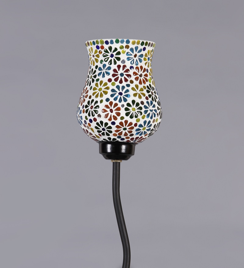 Buy Multicolor Glass Snake Floor Lamp by New Era Online - Indian ...