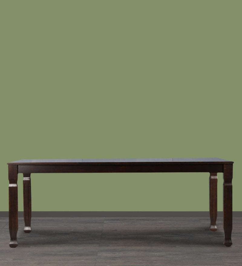 New Victoria Eight Seater Dining Table in Wenge Finish by HomeTown