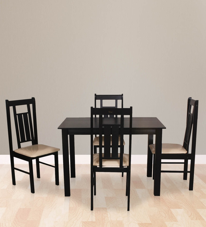 Yoshimi Four Seater Dining Set by Dina